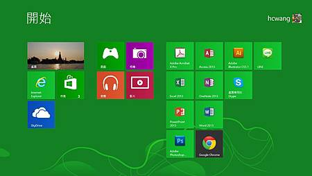 Windows8 磚牆