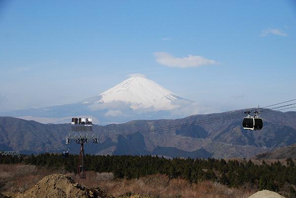 箱根遠眺富士山