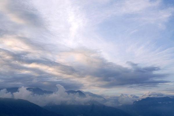 七星潭的傍晚雲彩