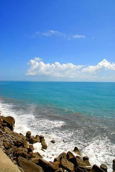 海洋公園外的沿海海岸