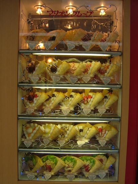 喔~我也好想吃可麗餅,日本的可麗餅超好吃!