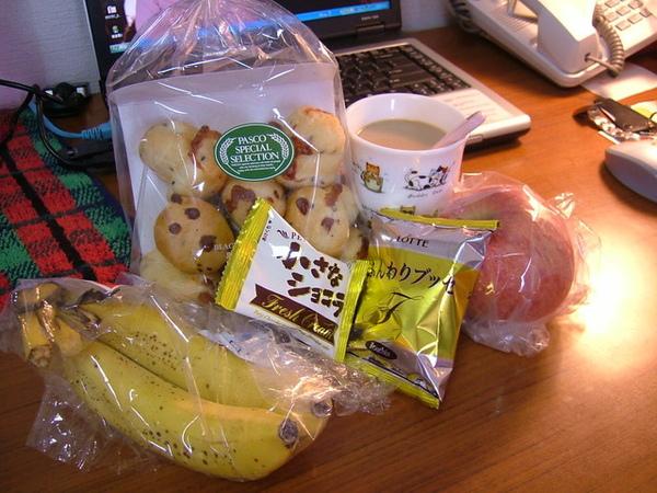 當然不能忘記我最愛的蘋果,還有另外賣的香蕉
