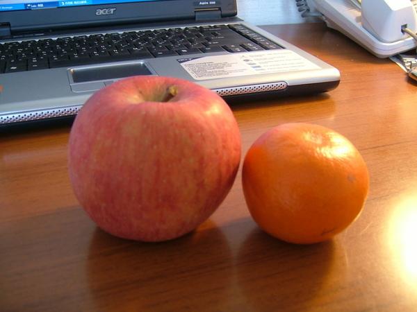 橘子超迷你,很可愛~但,超級難吃,真的!
