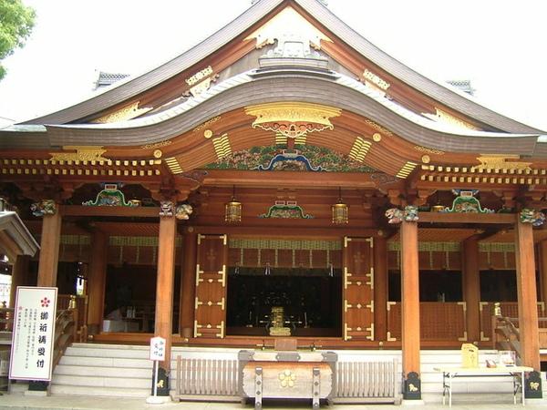 湯島神社是祭拜日本的學問之神「菅原道真」