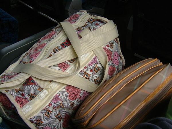 06/01/27 新春假期開始囉,大包小包出門遊玩