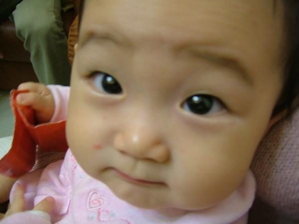 恩恩長大應該也是個美人胚子