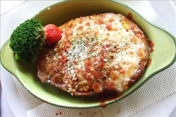 南瓜海鮮義大利麵