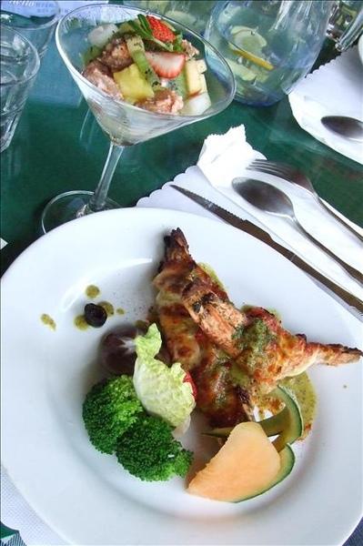 法式明蝦+鮑魚醬