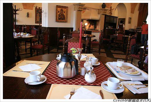 美好的一天,由飯店豐盛的早餐揭開序幕