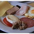 完全西式的早餐,好吃耶