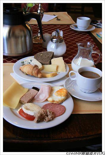 很豐盛的早餐,我喜歡