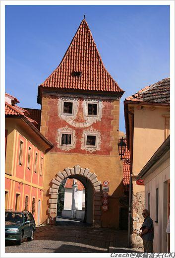 城牆的尖塔