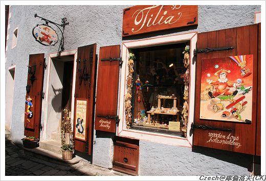 各種美麗的商店櫥窗
