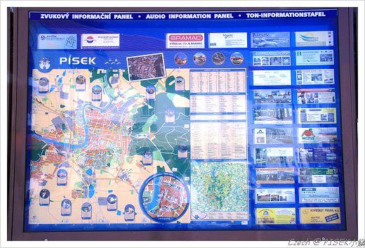 整個小鎮的地圖