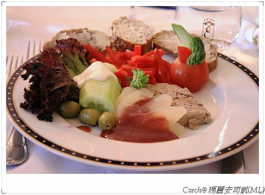 豐盛的前菜