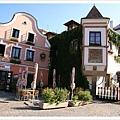 漂亮的店家,很愛捷克的小鎮耶,景色超級優美