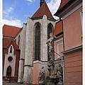 很快就來到白塔,另一個有歷史的歐洲教堂
