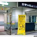到曼谷轉機的班次表,候機室