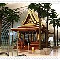 曼谷特色建築也出現在機場中
