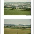 結果一路上都很想吐,沒辦法欣賞歐洲鄉村風景