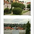 在捷克邊界已經可以感受到這個國家的美麗風景