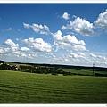 一路上風光明媚,捷克的鄉村景色真的會迷死人