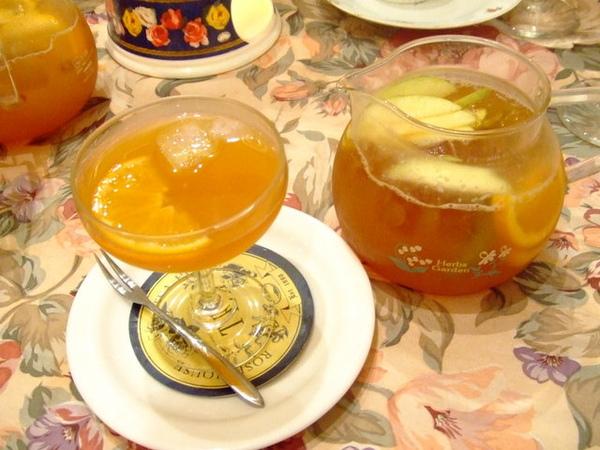 我也超愛古典玫瑰園的水果茶