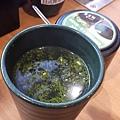 用綠茶泡茶粉