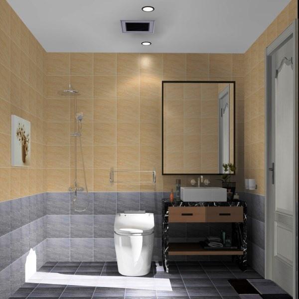 主臥浴室-3D圖