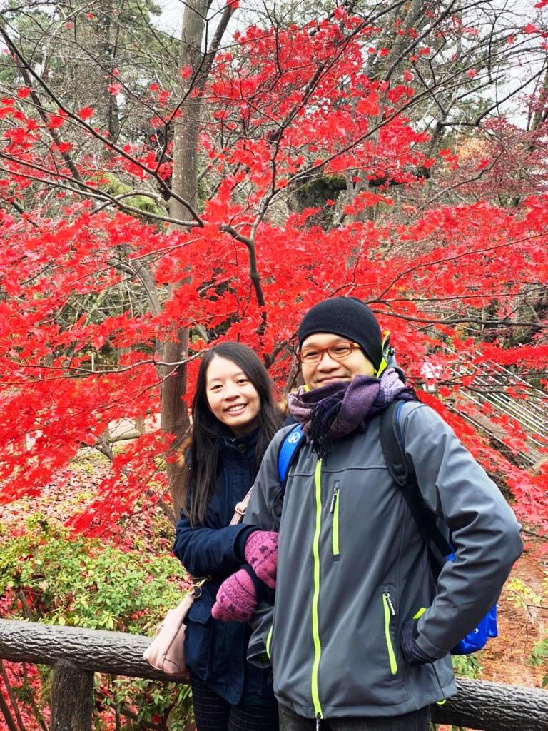 弘前城楓紅