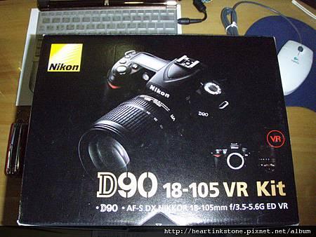 Nikon D90開箱1.jpg