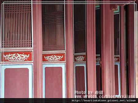 台灣文學館與孔廟7