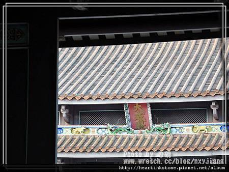 台灣文學館與孔廟11