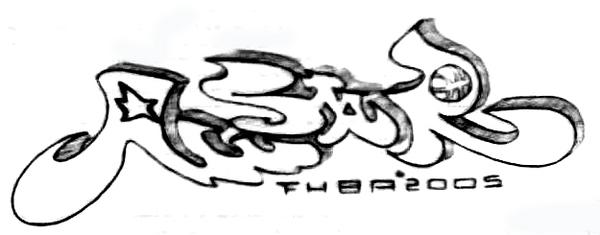 當兵設計的球賽logo