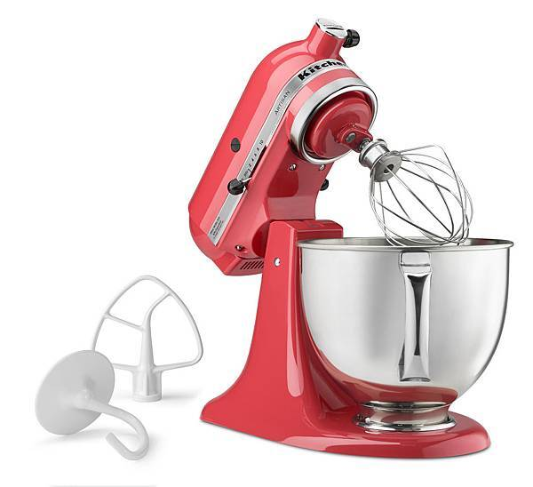 KitchenAid桌上型攪拌機西柚紅P130233_5z