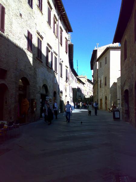 聖吉米安諾街道