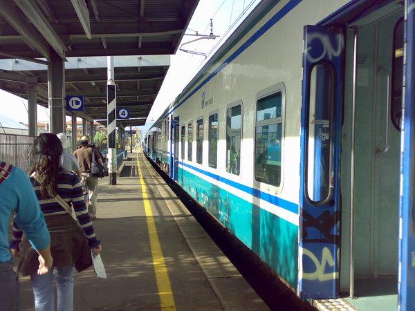前往佛羅倫斯的火車