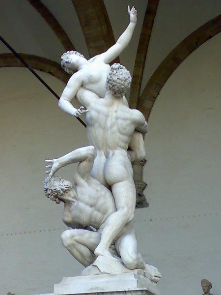 烏菲茲廣場雕像