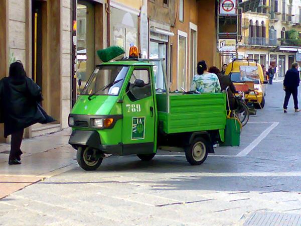 可愛的掃街車