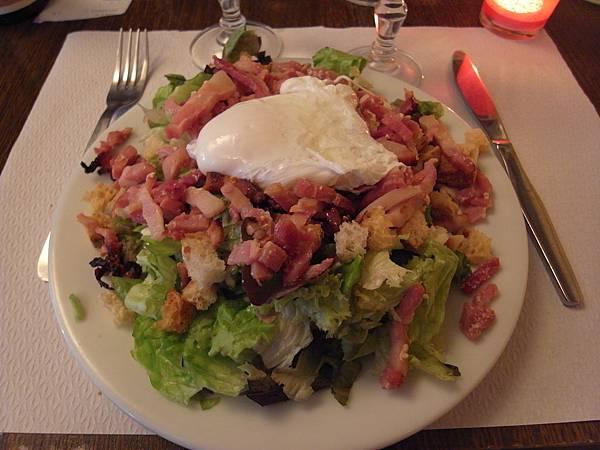 我的前菜-salade lyonnais