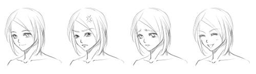 人物五官及表情1