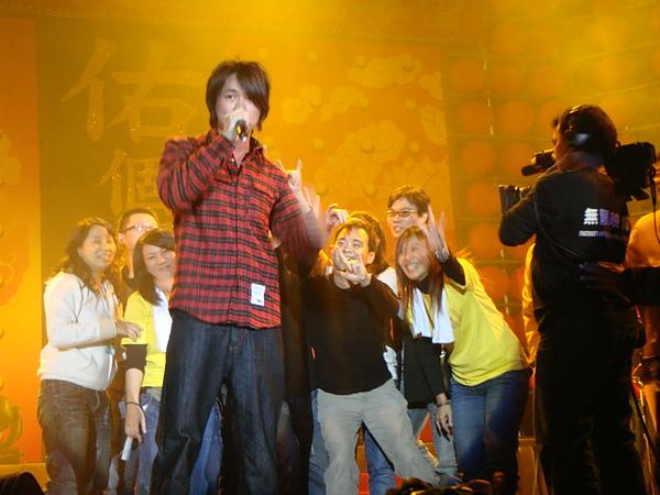 20090115 華寶尾牙登場