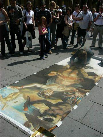 街頭藝術家 ~很喜歡這個人