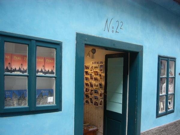 布拉格城堡卡夫卡的故居