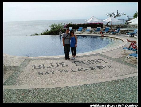bluepoint其實也是個villa  還有美麗的海灣