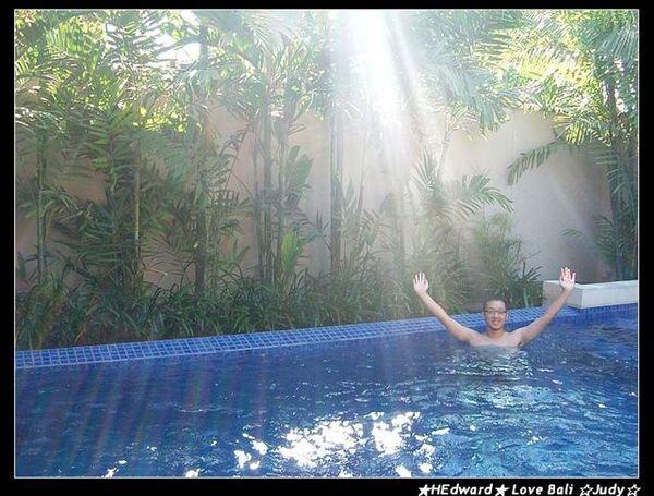 獨立的泳池