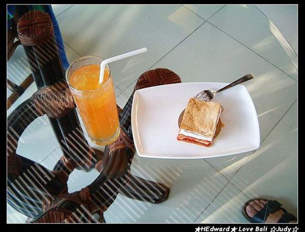 villa送我們的下午茶