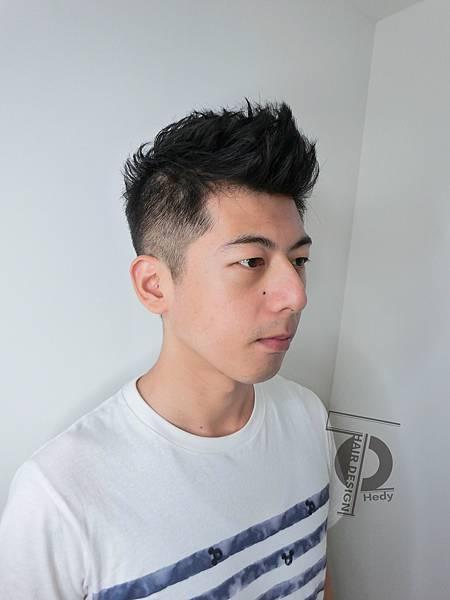 帥氣清爽短髮