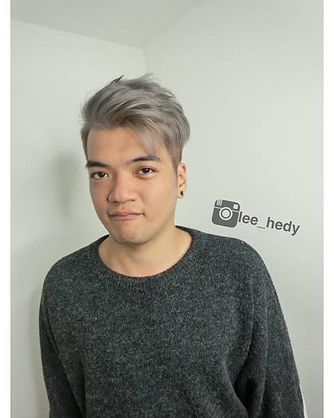 淺淺灰~此色需漂髮