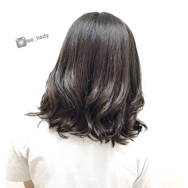 中長髮~手撥燙